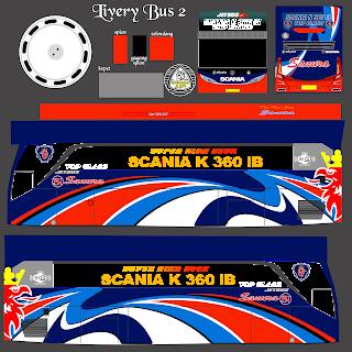 Download Livery Es Bus Id Po. Sanura