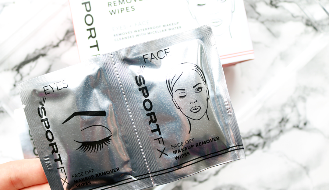 SPORT FX Face Off Duo Eye & Face Makeup Remover Wipes