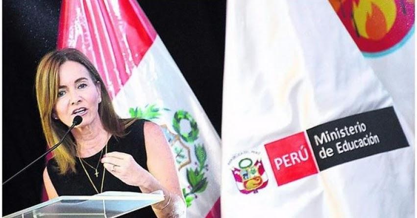 Ministra de Educación acusa a Pedro Castillo de ser parte del Conare, sindicada por la Policía como fachada magisterial de Sendero Luminoso