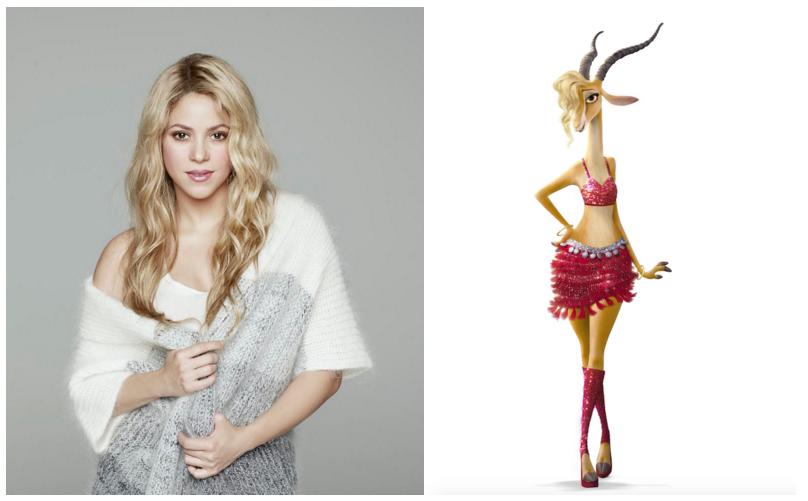 Shakira Is Gazelle In Zootopia Thisfunktional
