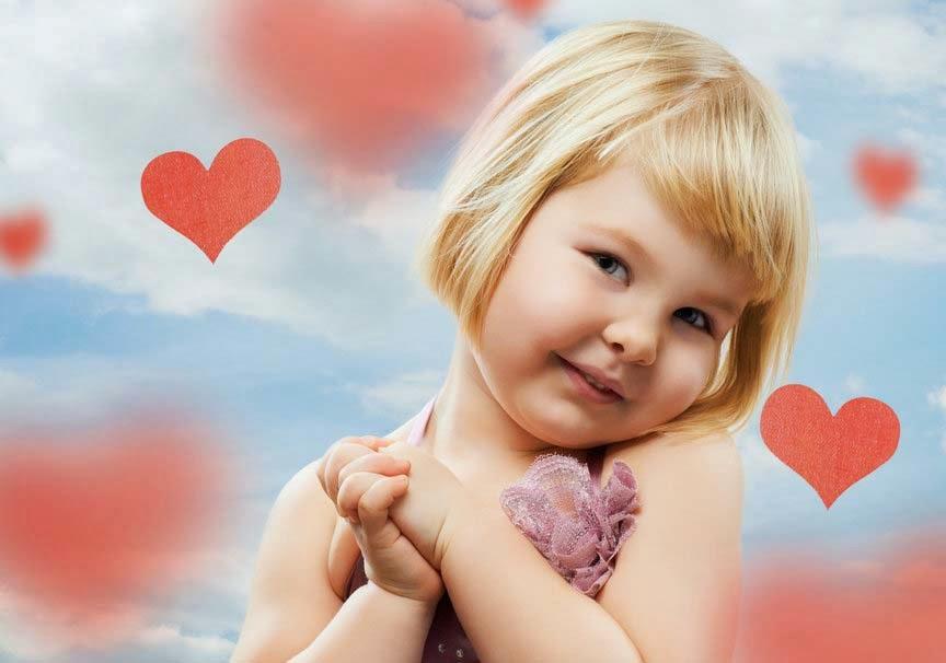 kız-mutlu-kalpler-sevimli-çocuk-bebek-pic