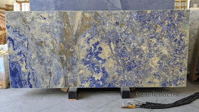 Sodalite Blue Granite Slabs NYC