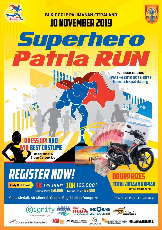 Superhero Patria Run • 2019