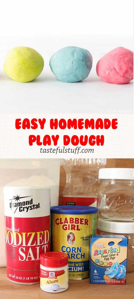 EASY HOMEMADE PLAY DOUGH