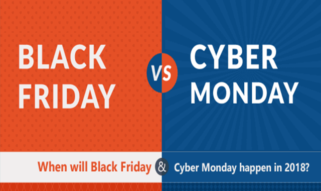 Is It Better To Shop On Black Friday or Cyber Monday? #infographic