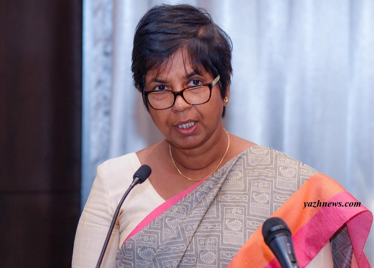 State Minister Sudarshini Fernandopulle