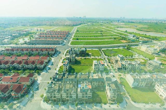 Tổng thể khu đô thị Dương Nội.