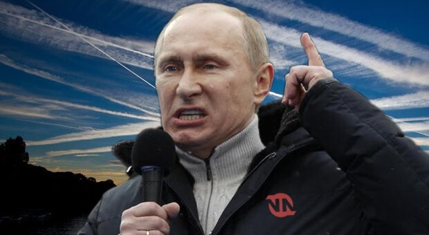 Putin Warns: Western Governments Are Destroying The Planet With Chemtrails For Control And Profit