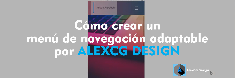 Como-crear-un-menú-de-navegación-adaptable-por-ALEXCG-DESIGN