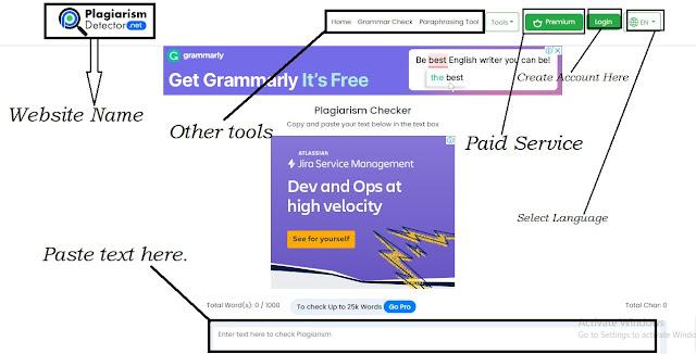 Plagiarism Detector Official Website