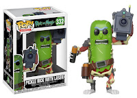 Funko Pop! Pickle Rick with Laser