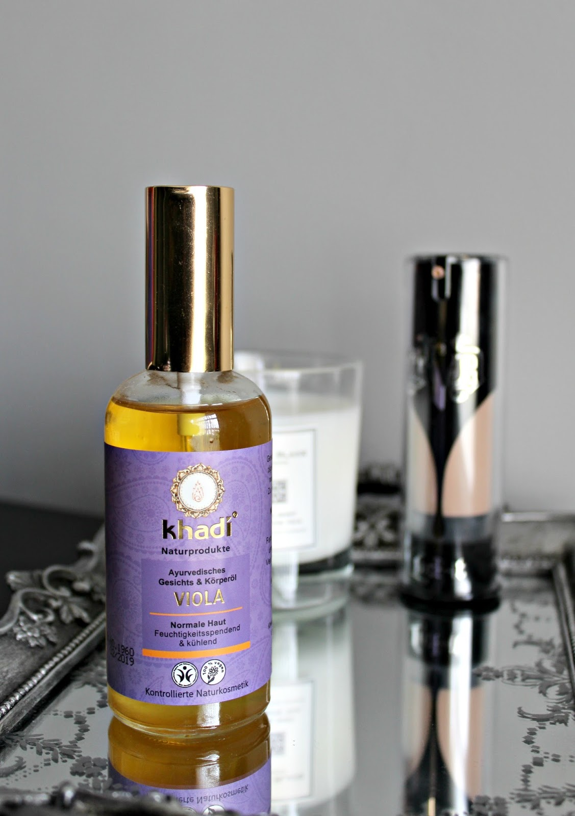 khadi Viola Face Oil Review