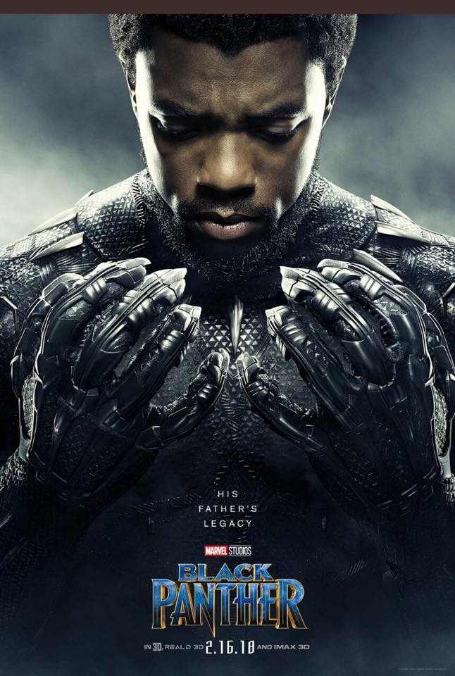 Black Panther (2018) Official Poster