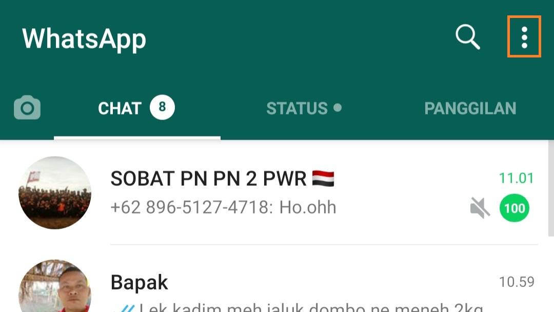 Cara Memindahkan Whatsapp ke tempat lain