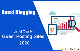 List of Search Queries to Find Guest Posting Sites.