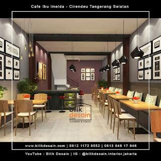 desain interior kafe restoran cirendeu tangerang selatan