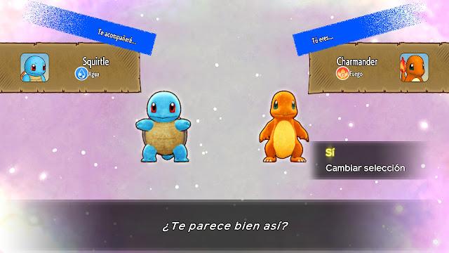 Charmander Squirtle Pokémon Mundo misterioso DX