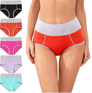 $13.79-$16.19, cassney Women's High Waisted Underwear