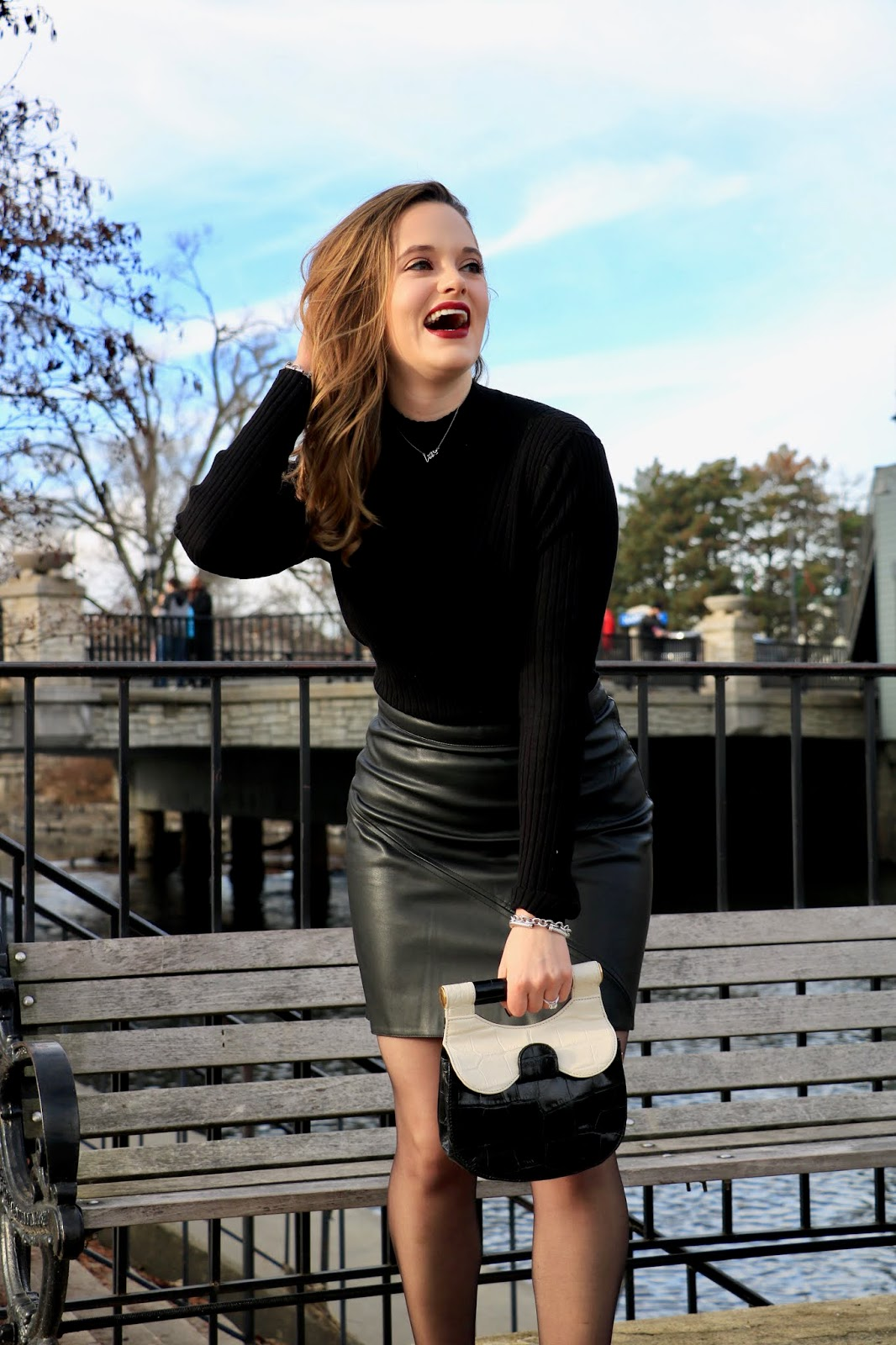 Nyc fashion blogger Kathleen Harper's winter outfit inspo for work and date night.