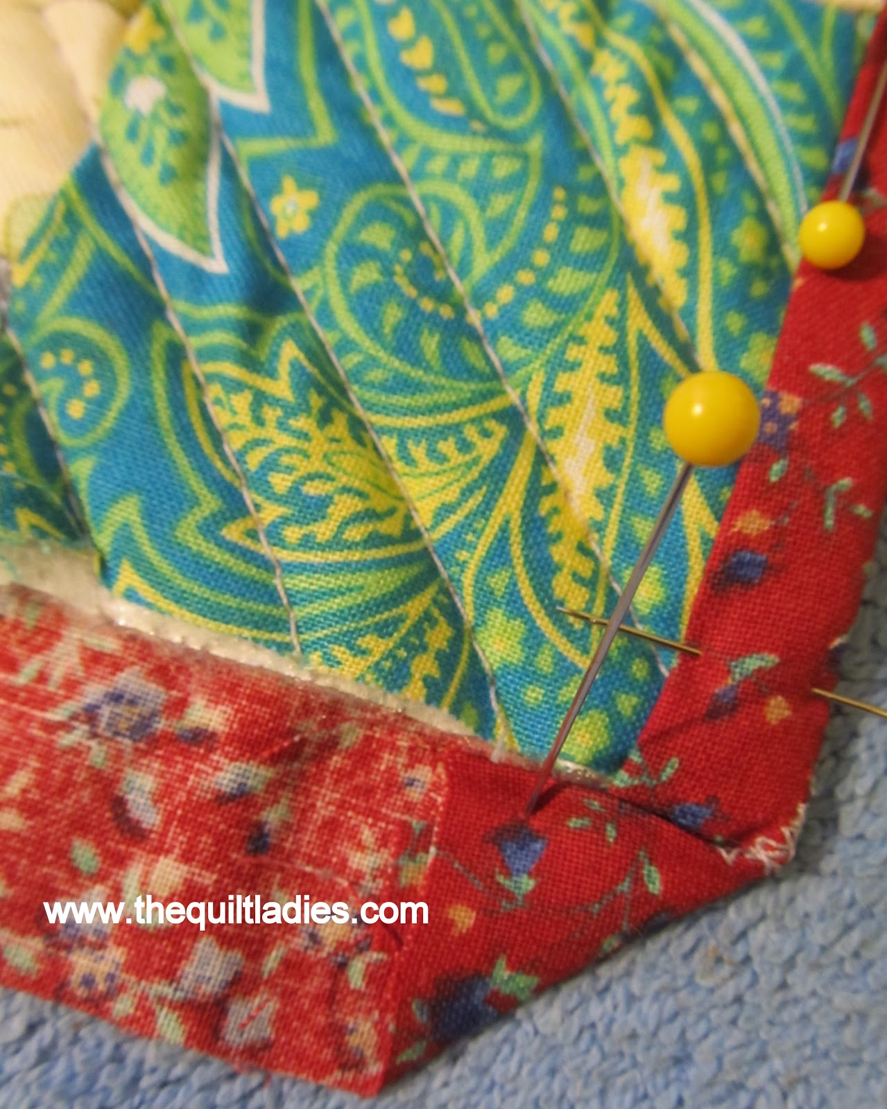 How to quilt using your embroidery machine