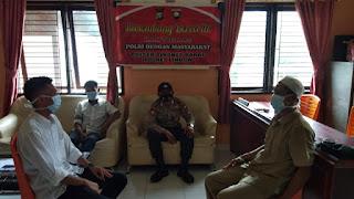 Unit Binmas Polsek terus lakukan Imbauan Kamtibmas Melalui Bersembang Bercerita Kamtibmas