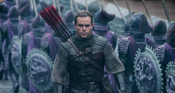"""Matt Damon """"La Gran Muralla"""""""