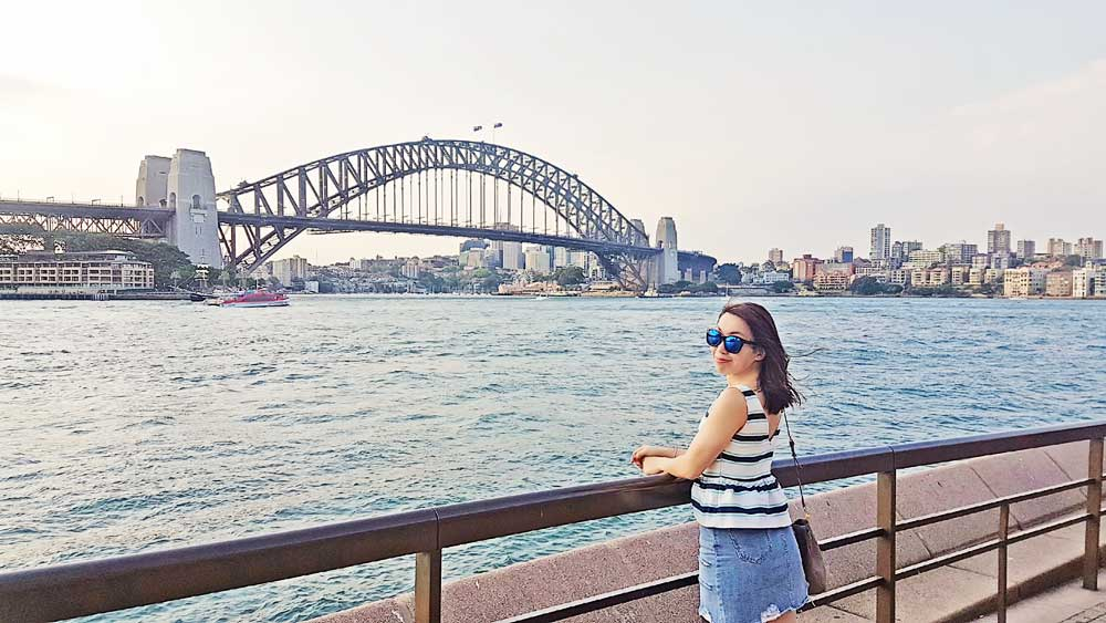 Harbour Bridge Sydney Sydney Opera House -  Down Under Travel Guide: What You Can Eat and Do in Sydney