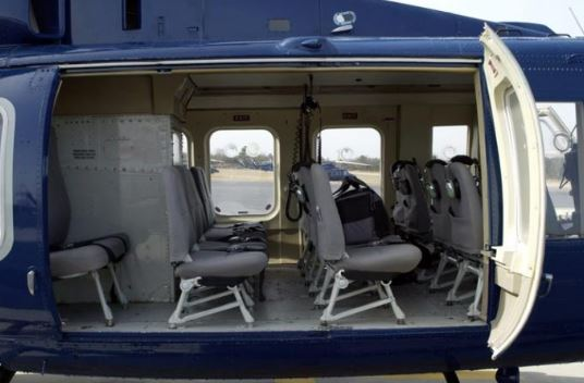 Bell 412EP interior