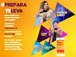 Cadastrar Promoção Prepara Cursos 2019 Te Leva Viagem Rock in Rio Prêmios na Hora
