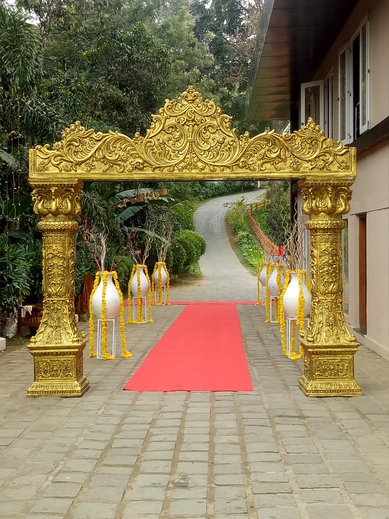 Kerala Entrance Decoration Images