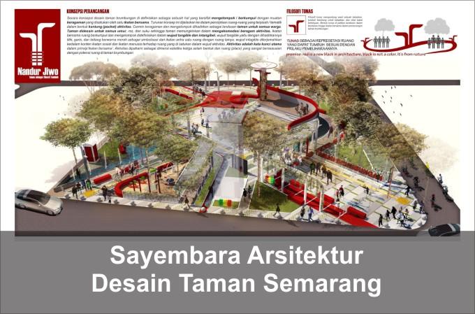 Desain taman semarang