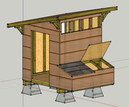 Alaskan Insulated Chicken Coop Design and Construction