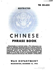 Download Chinese Phrase Book, 1943 free PDF Chinese PDF Ebook