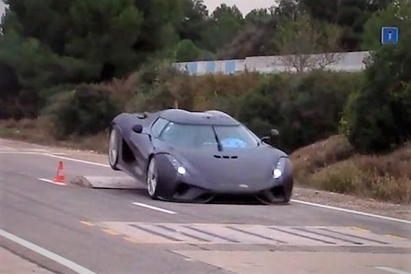 Así castigan al Koenigsegg Regera