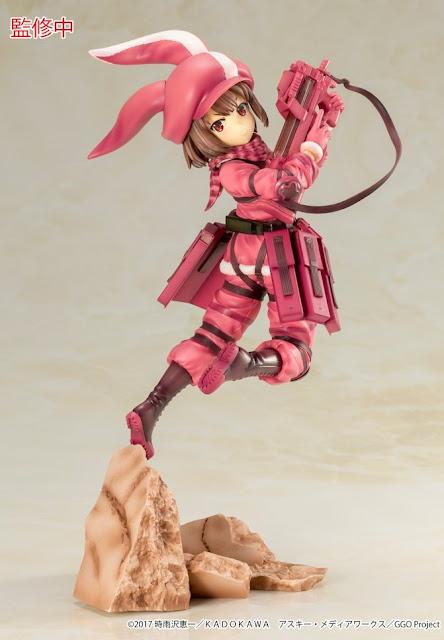 "Figuras: Primera imagen oficial de Llenn de ""Sword Art Online Alternative Gun Gale Online"" - Kotobukiya"