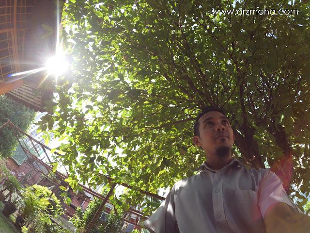 selfie, hasil gambar yicam, action cam, xiaoyi yi cam, gambar selfie, arzmoha, blogger malaysia, blogger utara,