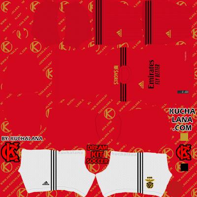 S.L. Benfica Kits 2020-2021 - DLS21 Kits