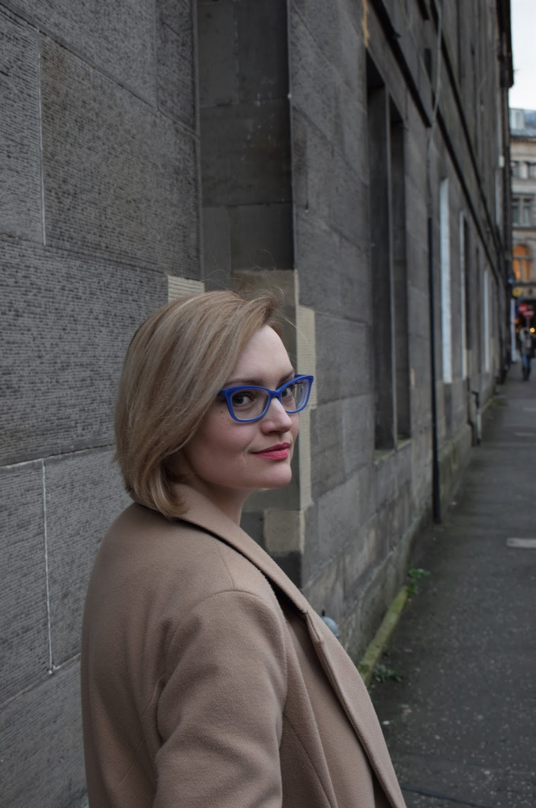 Max and co glasses frames, glasses trends 2017, bold blue nerd glasses, specsavers designer glasses, how to wear bold glasses, uk style bloggers with glasses, fashion blogger scotland