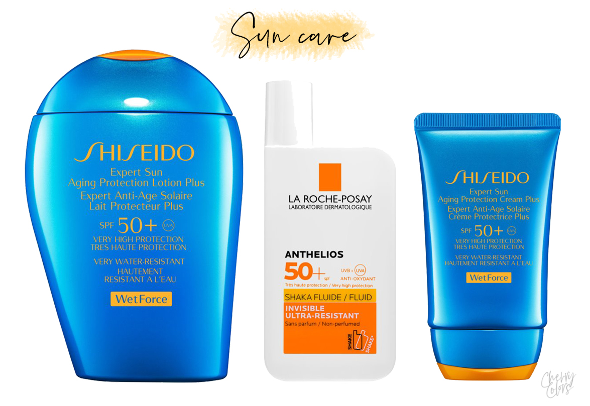 Notino sunscreen products
