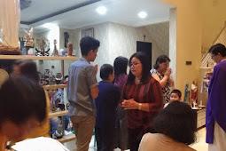 Misa Arwah 40 Hari Opa Filipus Ali Tanujaya di Lingkungan St. Felisitas 3