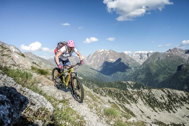 Sport in der Schwangerschaft Mountainbike 9. Monat