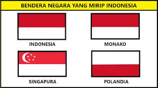 Bendera Negara Yang Mirip Indonesia