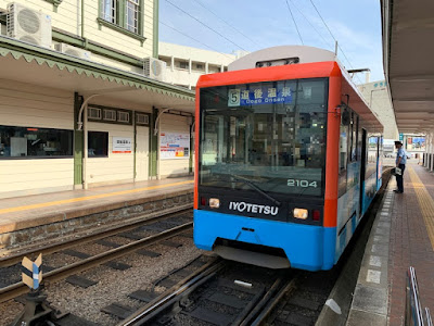 新型車両の路面電車