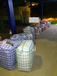 Descaminho: Grande quantidade de mercadorias foram apreendidas na BR