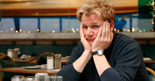 Has gordon ramsay ever liked the food on kitchen for Kitchen nightmares uk