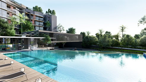 DainTree Residences - Infinity Pool
