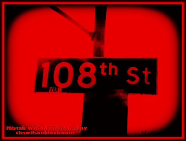 108th Street, Los Angeles, California by Mistah Wilson