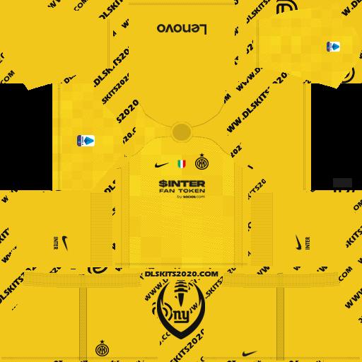 inter milan Kits 2021-2022 nike - Dream League Soccer 19 Kits (Away goalkeeper)