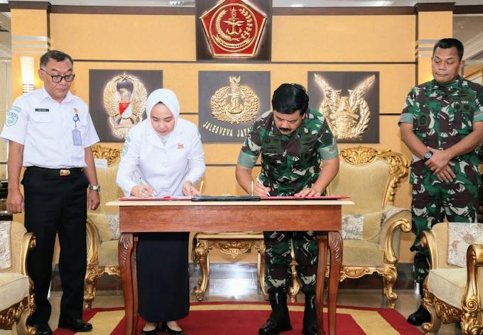 TNI dan BMKG Jalin Kerja Sama
