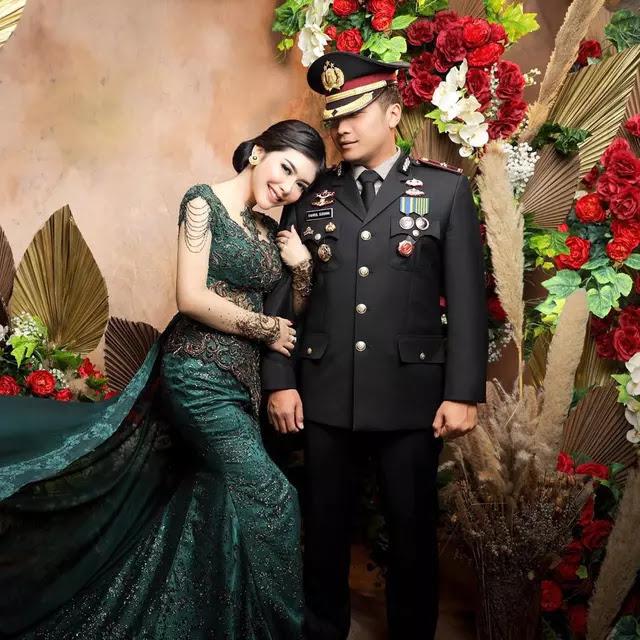 Gelar Pesta Nikah, Polisi Suami Selebgram Rica Andriani Dimutasi